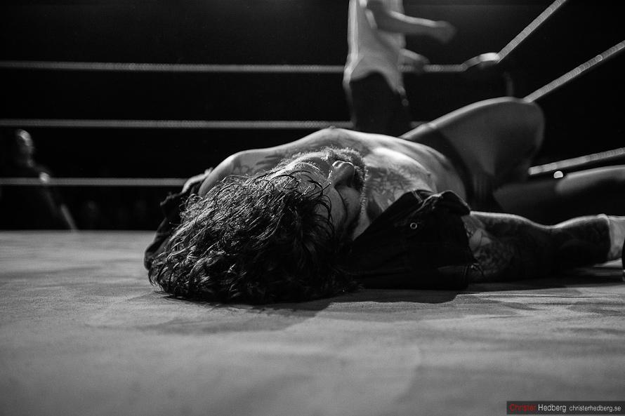 GBG Wrestling: Conny Mejsel vs. Doppelgangster. Photo: Christer Hedberg   christerhedberg.se